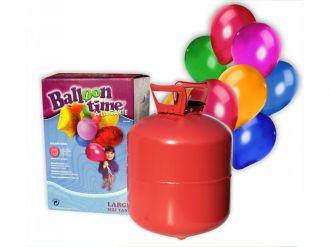 Helium na 30 balónků