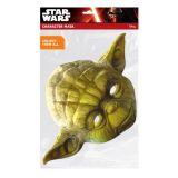 Papírová maska - Yoda