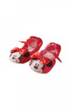 Balerínky Minnie Mouse červené