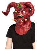 Maska - Čert  - Satan - deluxe