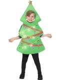 Dětský kostým Vánoční stromeček svítící