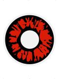 Oční čočky - Explosion red