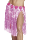 Havajská sukně růžová 46 cm
