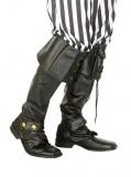 Návleky na boty Pirát, černé