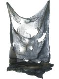 Hororové sukno šedé