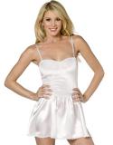 Šaty bílé mini