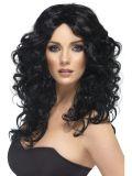 Paruka Glamour černá
