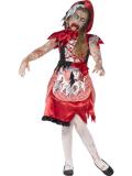 Dětský kostým Zombie Karkulka