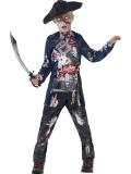 Dětský kostým Zombie pirát