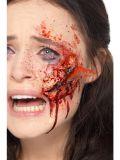 Zranění Sklo ve tváři
