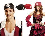 Pirátský šátek černý