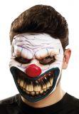 Maska obličejová - Ďábelský klaun