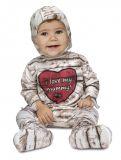 Dětský kostým Mumie baby