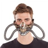 Maska Steampunk s hadicema