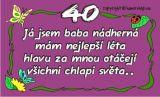 Průkaz 40 pro ženu