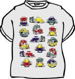 Tričko Šukající autíčka