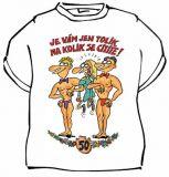 Tričko Výročí Pro ženy 50