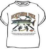 Tričko Ryba Northern pike