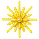Sada balónků slunce