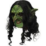Maska - Čarodějnice - s vlasy