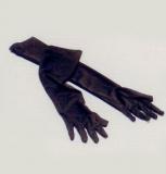 Rukavice - černé - střední