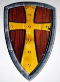 Štít - Camelot s křížem
