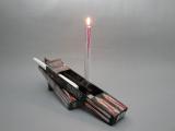 Svíčky s červeným voskem - 2ks