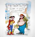 Tričko - Valentýn