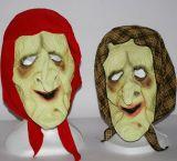 Maska - Žena s šátkem