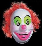 Maska Klaun s vlasy - dospělý