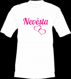 Tričko - Nevěsta - srdce