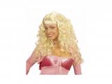 Paruka blond s lokny