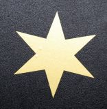Samolepka hvězda - 3,5 cm