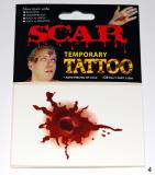Tetování - jizvy, rány