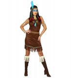 Kostým Indiánka - L