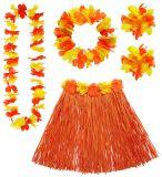 Sada Havaj - oranžová