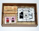 Sada pro novomanžele v dárkové krabičce