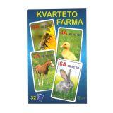 karty kvarteto Farma
