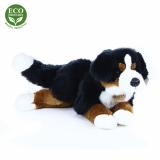 Plyšový bernský salašnický pes ležící 44 cm ECO-FRIENDLY