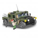 Stavebnice NATO vozidlo zelené, 255 k, 1 f