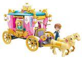 Stavebnice Qman Princess Leah 2614 Královský kočár