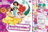Omalovánka - Razítkovánky Disney Princezny