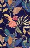 ALBI Kapesní diář - Tmavé květiny