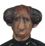Maska - Čert s beraními rohy