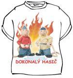 Tričko - Pat a Mat - Dokonalý hasič