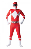 Kostým - Mighty Morphin - Red Ranger - 2ND Skin
