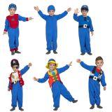 Dětský kostým - 5 v 1 - modrý