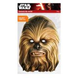 Papírová maska - Chewbacca