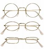 Zlaté brýle se skly